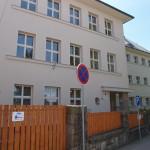 Budova II. st. ZŠ - hlavní vchod