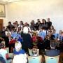 Společné vystoupení účinkujících pod vedením Mgr. Hany Kudrnové