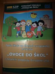 Ovoce do škol 2 - plakát